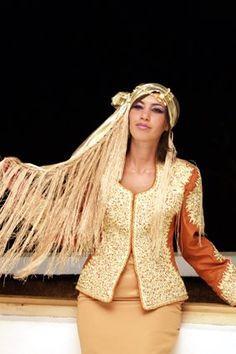 Les Algéroises: La tenue traditionnelle algéroise: Le KARAKOU