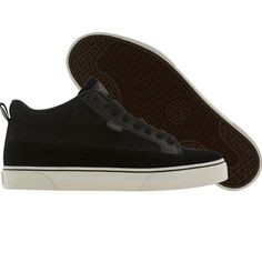 HUF Clarence shoes in black and cream