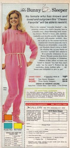 The original wearable blanket - I think it might be uglier than the current one.