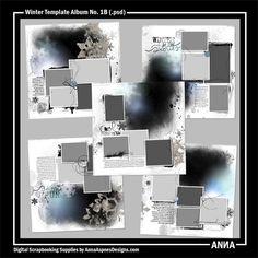 Winter Template Album No. 1B