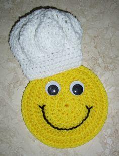 Crochet Pattern Chef Hat : Mas de 1000 imagenes sobre Cuochi en Pinterest Chefs ...