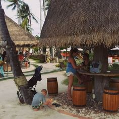 A relaxing drink at the very chilled Coco Tam's Beach Bar in Fisherman's Village, Koh Samui #kohsamui #beach #Thailand #maitaiholiday
