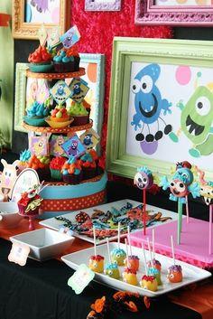 Monster Birthday ideas by krista