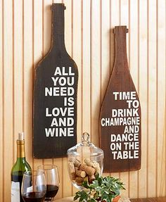 Add to your rustic decor with this Novelty Wood Wall Sign. The shaped sign…