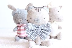 Mini Stuffed Animals www.minisbyvane.etsy.com