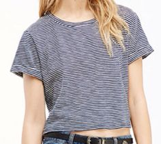 Striped Crop top @forever 21 $9