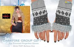 Second Life Free Darkfire Group Gifts Collection