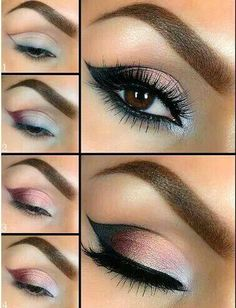 Do not like the eyebrow. I think the eyeshadow idea is really cool.