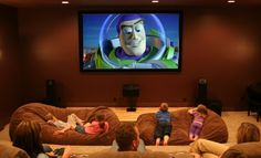 (6) Home Theater Movie Room Ideas