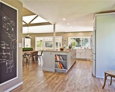Eclectic Kitchen Open Concept Kitchen Design, Pictures, Remodel, Decor and Ideas - page 5