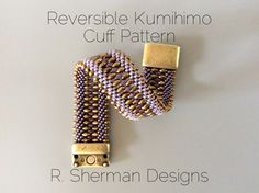 PDF files for Kumihimo Cuff Variations: In this Supplement to the Kumihimo Beaded Cuff Bracelet, two bead loading patterns offer new, fun options for your Kumihimo Cuff. Make your cuff reversible (maybe gold on one side, silver on the other?) or alternate various beads along the edge. Try small daggers or drops for impact and interest. ***NOTE: the instructions to make the Kumihimo Beaded Cuff Bracelet are NOT included. You will need a copy of Kumihimo Beaded Cuff Bracelet Tutorial to…