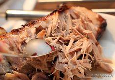 Pulled pork itse tehty rub ja itse tehty marinadi
