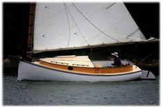 "Catboat ""Bella""-Lake Tashmoo, Martha's Vineyard"