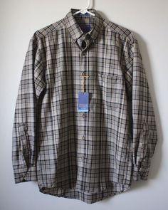 NWT Pendleton Woolen Mills 'Sir Pendleton' Plaid Button Down Shirt Sz. S $77 (t) #Pendleton #ButtonFront