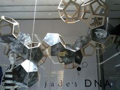 Cardboard + Geometry Jade DNA windows Jakarta Indonesia
