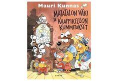 Majatalon väki ja kaappikellon kummitukset Family Guy, Snoopy, Cover, Books, Fictional Characters, Art, Livros, Art Background, Libros