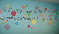 Sunday School Mural
