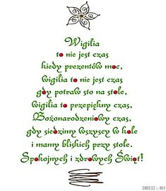 Christmas tree in script Christmas Tree And Santa, Christmas Nail Art, Christmas Countdown, Country Christmas, Christmas Time, Christmas Crafts, Christmas Decorations, Polish Language, Good Night Messages