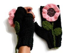 Your place to buy and sell all things handmade Crochet Christmas Gifts, Unique Christmas Gifts, Crochet Gifts, Crochet Ideas, Unique Gifts, Fingerless Gloves Knitted, Knit Mittens, Knitting Yarn, Knitting Patterns