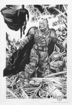 Batman vs Superman by Alessandro Bocci