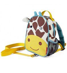 Plecak dziecięcy ze smyczą Baby ZOO Żyrafa SKIP HOP