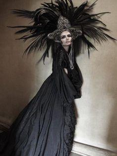 Feathers headdress