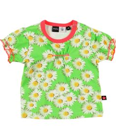 Molo Lovely Marguerite Printed Baby T-shirt. molo.en.emilea.be