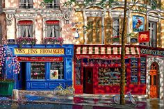 """Les Marches Parisiens"" ~ by Liudmila Kondokova ~ Painting You With Words"