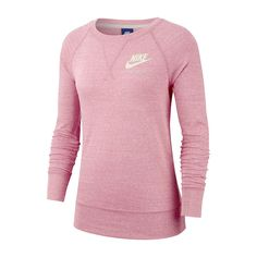 0e62315a1ee5 Nike Womens Crew Neck Long Sleeve T-Shirt