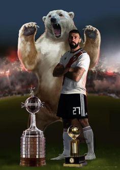 River: Pratto agradeció a sus seguidores En el momento en que más lo idolatran los hinchas millonarios, el Oso mostró su gratitud por los saludos de cumpleaños. Escudo River Plate, Leonel Messi, Carp, Real Madrid, Football, Animals, Grande, Manga, Chile