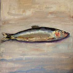 Sam Wilson fish painting