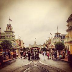 Main Street, U.S.A -- morning