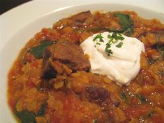 Curried Beef and Red Lentil Stew Recipe