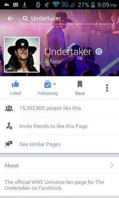 Wwe Wrestlemania 34, Invite Friends, Undertaker, Fan Page, Athlete, Universe, People, Amor, Cosmos