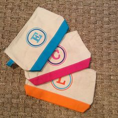 Perfect pouch!  Monograms off Madison