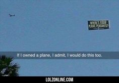 If I Had My Own Plane I Would Do This...#funny #lol #lolzonline