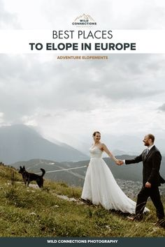 Best Places To Elope In Europe In 2020 | Wild Connections Photography Wild Camp, Julian Alps, Best Ski Resorts, Alpine Meadow, Mountain Elopement, Elopement Inspiration, Elope Wedding, Intimate Weddings, Europe