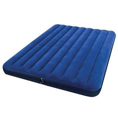 Camping Air Mattresses - Intex Classic Downy Airbed Queen >>> Read more reviews of the product by visiting the link on the image.
