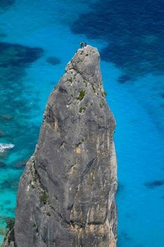 Pedra Longa (Pietra lunga) La guglia di Cala Goloritze'- Baunei (Golfo di Orosei). #goloritze#Sardinia#Cerdeña#Sardegna#Sardinien