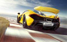 Download wallpapers 4k, McLaren P1, hypercars, 2017 cars, raceway, supercars, McLaren