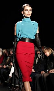 #DVF bright use of colors! - let's just go directly to Fall!