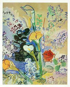 Raoul Dufy - Strauß Aronstab 1939-40