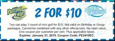 Putting Edge - Summer 2015 coupon Ontario Attractions, Summer 2015, Coupons, Coupon