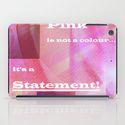 i pad case Pink Statement by Christine Baessler