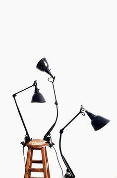 MIDGARD LAMP MODELS 114 & 126. DESIGNED BY CURT FISCHER (1890-1956)