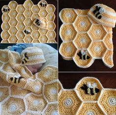 Sweet As Honey Crochet Pattern