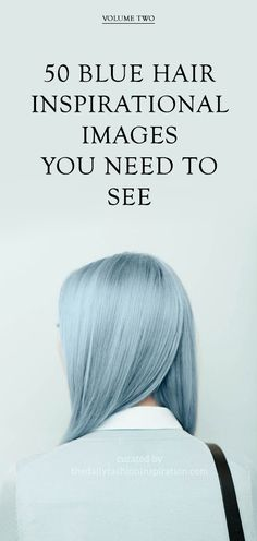 The best selection of 50 blue hair images, to inspire and present blue hair trends.