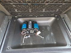 ARB twin compressor fits perfectly in 2011 Nissan Xterra