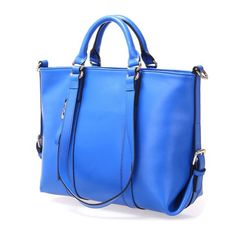 Fineplus Women's Cute Roomy Leather Multifunctional Shoulder Tote Bag Cobalt Blue fineplus http://www.amazon.com/dp/B00IEXFR3A/ref=cm_sw_r_pi_dp_HY0Wtb12YKAEJZ6Q