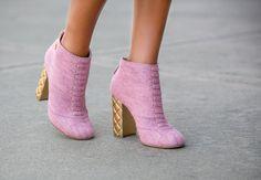 Chanel Boots Via fashion blogger Lauren Recchia from www.northofmanhattan.com